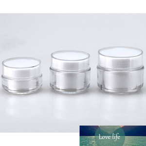 Hot Sale Portable Refillable Bottles Travel Face Cream Lotion Cosmetic Container Plastic Empty Makeup Jar Box