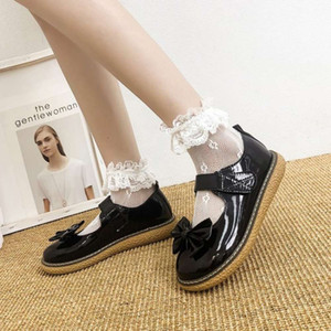 Ins small leather shoes student British style soft Harajuku chic Lolita thick comfortable versatile girl