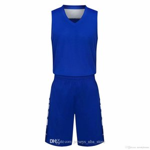 wholesale Customized men Basketball Uniforms,mens kits Sports clothes tracksuits Discount Cheap boy Basketball Sets tops With Shorts A8-19