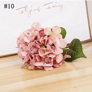 DIY 15 см искусственные цветы шелковые пиона головы свадьбы украшения поставки имитации фальшивые цветочные головки дома украшения fwe8210