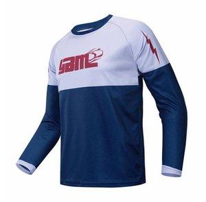 2021 Primavera ed estate da uomo da uomo da uomo a maniche lunghe a maniche lunghe T-shirt da equitazione all'aperto Asciugatura rapida Swing-swimming Sweatshirt Bel Size Personalizzazione
