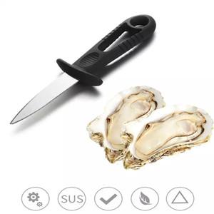 Coltello da ostrica in acciaio inox Barbecue Frutti di mare Accessori per la cucina Gadget Form For cooking Accessori BBQ Pentole Coltelli WLL254
