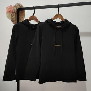 Pullover Causal Mens Hoodies Black Hip Hop Sweatshirts Hooded Loose Fit Long Sleeve Sweater Streetwear Sport Men Hoo5W0U