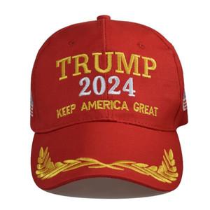 Capuchon électoral présidentiel américain Trump 2024 chapeau Ballon de baseball Caps Caps President Trump Gardez l'Amérique Général, je serai de retour Snapbacks Peaked Cap G3502