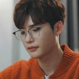 2021 Nouvelle marque coréenne Clear Alio Ordinateur Prescription lunettes Hommes Femmes Spectacles Optique Cadres Douce lunettes Cadre Uqag