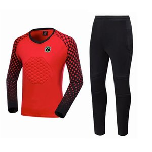 Hannover 96 Soccer Jerseys Sets Professional Goalkeeper Uniforms Suit Sports Training Tracksuit Customized Football Goalkeeper sets