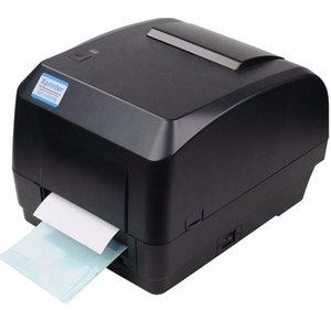 Printers Xprinter Thermal Transfer Printer Label Barcode 108mm Print Width USB Interface For Logistic Jewlery Retail