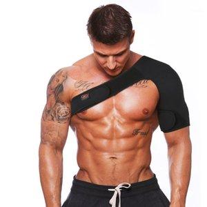 Hommes Femmes Sports Magnétique Simple Single Epaulin Support Brace Brace Muscles Wrap Bande Pad Soins de l'épaule Bandage1