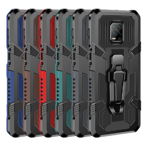 HOT Belt Clip Case Mecha Armor Phone Case for iPhone 11 PRO MAX Bumper Shockproof Stand Holder Belt Clip Holster Case for iPhone DHL free