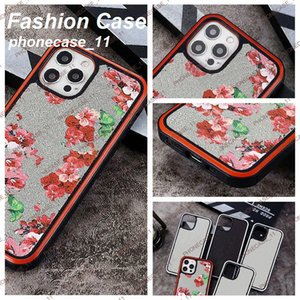 Beautiful Flowers phone case for iphone 12 11 Pro max cases with original box Luxury Designer Brand cover 11xs XSmax xr 8plus 8 7plus wholesaler 060518