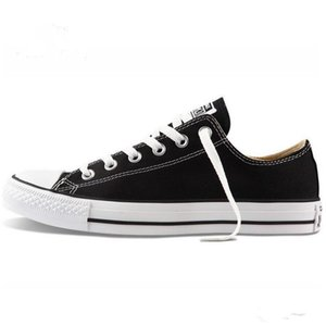 2021 حار بيع جديد 15 اللون حجم 35-46 منخفضة النمط النمط الرياضي النجوم الكلاسيكية قماش الأحذية أحذية رجالية / المرأة الأحذية قماش