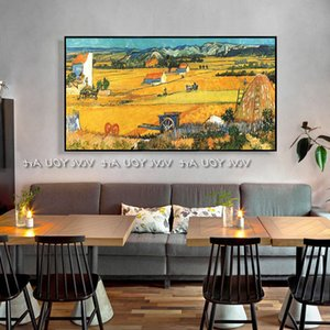 Van Gogh oil painting, famous hand-painted oil painting, sunflower oil painting, interior wall art painting.