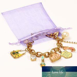 50 قطعة / الوحدة 7x9 سنتيمتر الأورجانزا مجوهرات أكياس الحقيبة الأورجانزا الرباط حقيبة التعبئة والتغليف للحصول على الحقائب حقيبة مجوهرات 5Z
