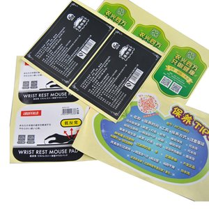 Custom Matte Varnished PVC Printing Package Label Sticker Vinyl Waterproof Colorful Adhesive Labels Personalized