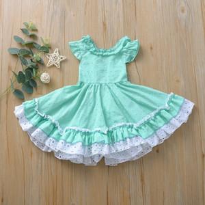 Chaquein filles robes robes de dentelle douce pour enfants Tutu enfants robes petites filles vêtements mariage princesse robes c0228