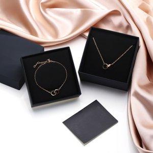 2021 Fashion Necklace Luxury Pendant Necklaces Love Bracelet for Man Women designer jewelry Bracelets with channel BOX