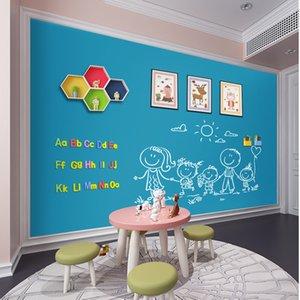 Hold magents Blackboard Magnetic ChalkBoard Erasable Kids Writing Graffiti Office Message Board Home Decorative Wall sticker 210312