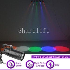 Sharelife 3 W Çoklu Saf Renk LED Mini Projektör Işık DJ GIG Parti Ev Show Mağaza Düğün Arka Plan Sahne Aydınlatma X-M02