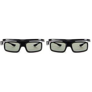2pcs DLP-Link Otturatore attivo 3D Glass GL1800 Eyewear ricaricabile per proiettore 3D R20 R19 R15 P12 R9 R7