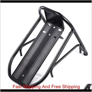 Cycling Mountain Bike Aluminum Alloy Front Rack Bracket Bicycle Carrier Pannier Racks For Mtb qylQcr mj_fashion