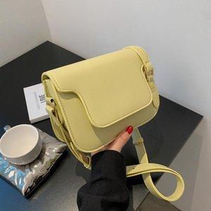 Талия Сумки Женская сумка Небольшая Свежая подмышечное плечо 2021 Летняя мода Trend Candy Color Atmosperic Messenger Талия