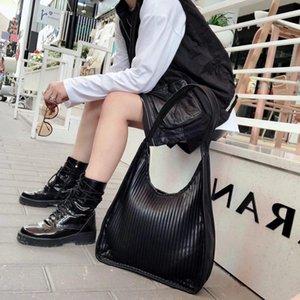 Cross Body SnailLady PU Leather Fashion Pleated Shoulder Bag Women Brand Design Soft Large Hobo Casul Vegan Shopping Strip
