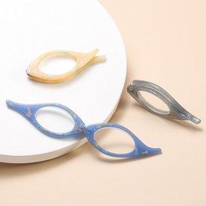 Sunglasses Retro Cat Eye Folding Reading Glasses Nose Clip Portable Presbyopia Oval Lens Women Men Enlarge Glass +1.00 To +4.00
