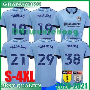 2020 2021 Coventry City Soccer Jerseys OSTIGARD JOBELLO WALKER McCallum DA COSTA HAMER 20 21 Home Blue FOOTBALL Shirt THAILAND SIZE S-4XL