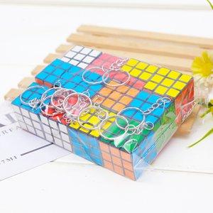 Magic Square Key Catena Catena Piccole Decorazioni Cube Moda originale Ciondolo Cute Pendente per bambini Fibbia per bambini Fibbia girevole ANELLO GIUSTO 0 55ZF K2