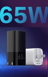 3 포트 65W GAN 벽 충전기 2 PD3.0 USB-C 포트 빠른 충전 + 1 USB-A 포트 QC3.0 모든 스마트 폰