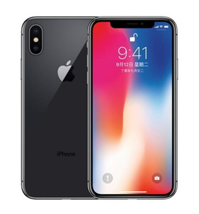Original Apple iPhone X with face id 64GB 256GB Hexa Core iOS 13 5.8 inch 12MP 4G Lte Refurbished Unlocked Cell Phones