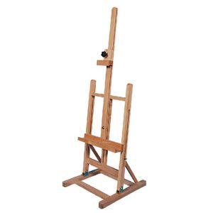 WACO SOLEL STAND DISPLAY картины художественных материалов, небольшие размеры деревянные H-кадры с артистом хранения лотка, прочный держатель Beechwood