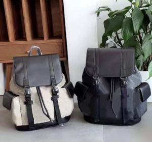 Lüks Tasarımcılar Unisex Kız Erkek Erkek Bagpacks Stil Klasik Eşleştirme Çizgili Halat Toka Adam Çanta Sırt Çantaları Duffle Çanta Okul Çantaları