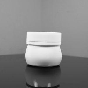 150g Empty Recycled Plastic Cosmetic Jars White PET Cream Bottle Hand Wax Jar BPA Free