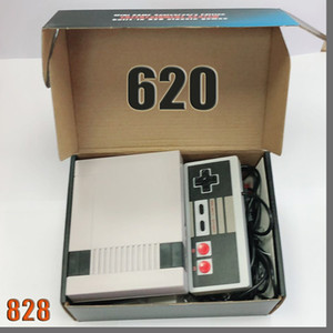 828D New Arrival Mini TV can store 620 500 Game Console Video Handheld for NES games consoles with retail boxs dhl