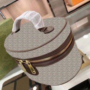 2021 high quality fashion womens cosmetic bag luxury brand designer handbag classic lady cosmetics large capacity storage boxs with box dust bags