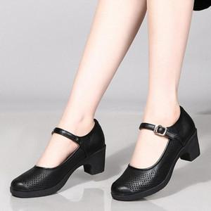 EILLYSEVENS Dropshipping 2020 nuevas mujeres sandalias verano hecho a mano retro zapatos de damas de cuero sandalias sólidas zapatos de planos de mujer # g4 q6wt #