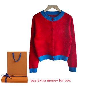 Camicia a maglia casual da 21SS per uomo e donna Maglieria a maglia Cardigan a maniche lunghe con girocollo Tenere caldo in inverno vari stili di colore