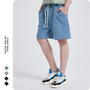 New arrival Artie Men's | 2021 Original Chaogene High Street Men's Shorts INS Wind Five Sports Leisure Cotton Shorts