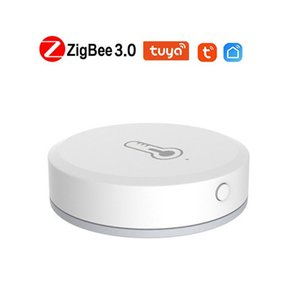 Smart Home Control 2021 Tuya SmartLife App ZigBee Temperature And Humidity Sensor Battery Powered Work With Hub Via Alexa Google