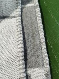 Letter Blanket Soft Wool blend Scarf Shawl Portable Warm Plaid Sofa Bed Fleece Towel Spring Autumn Women Throw Blankets