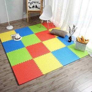 JCC Leaf Pattern Puzzle EVA Foam Baby Play Mat  kids Rugs carpet Interlocking Exercise Floor for children Tiles 60*60*1.2cm H0831 H0906