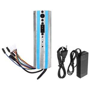 전기 스쿠터 활성화 된 블루투스 대시 보드 제어 보드 마더 보드 컨트롤러 충전기 Ninebot ES1 ES2 ES3 ES4, EU Plu