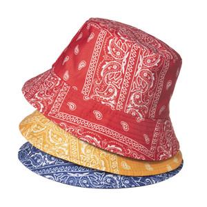 Cashew-Druck Fischer-Hut Männer und Frauen Trendy Druck Fisherman's Hat Street Mode Muster Becken Sonnenhut
