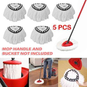 5pcs lot 360 Rotating Replacement Microfiber Spinning Floor Cleaning Refill Mop Head for Vileda