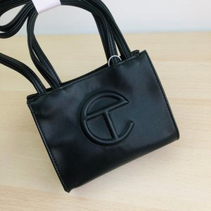 Telfar Fashion Classical shoulder and tote shopping bag with Huge Embossed Logo