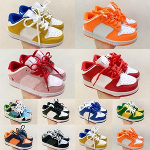 Top quality Chunky Dunks Low cost sb Kids Running Shoes Boys Girls Casual Fashion Sneakers Athletic Children Walking toddler Sports Trainers Eur 26-35