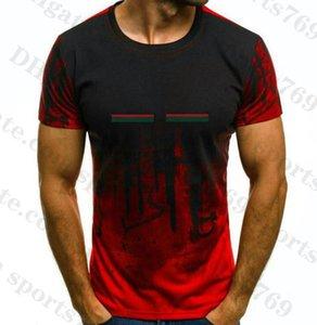 21ss Christian Fashion Hombres Camisetas casuales Camisetas para hombre Diseñador Camiseta Hombre París Francia Pantalones cortos de calle Ropa de manga Tshirts Tees Plus Gran tamaño S-6XL