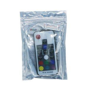 2021 RGB Strip LED RGB Controller DC5V-24V 12A 17key mini RF Wireless Remote Dimmer For 5050 3528 RGB Flexible Strip Light