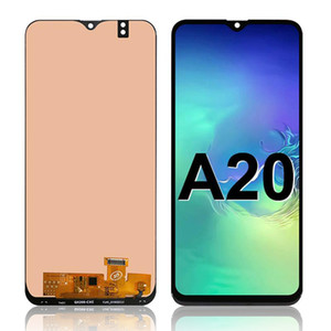 100% Tested Super AMOLED For Samsung Galaxy A20 LCD SM-A205F LCD Display Touch Screen Digitizer Assembly Replacement Wholesale spare parts
